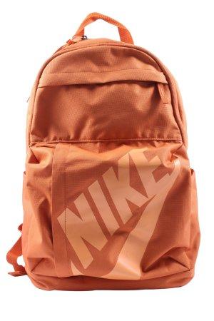 Nike Schulrucksack hellorange Casual-Look