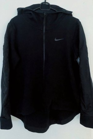 Nike Sportjack zwart Gemengd weefsel
