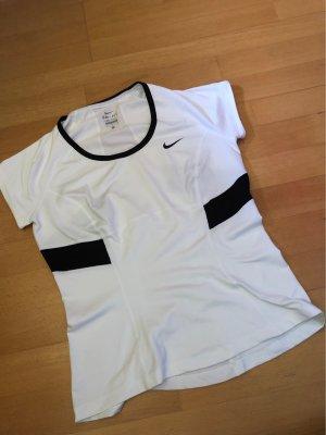Nike T-shirt de sport blanc-noir