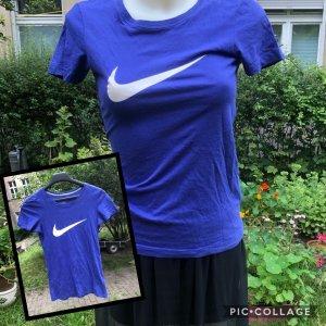 Nike Shirt Lila Silber XS