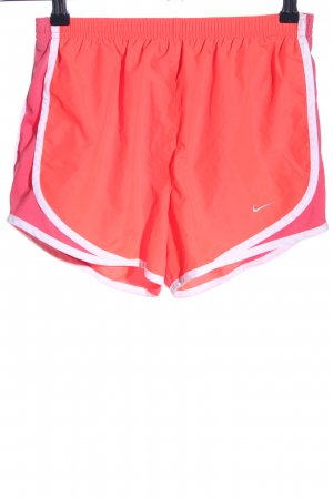 Nike Shorts rot-weiß Casual-Look