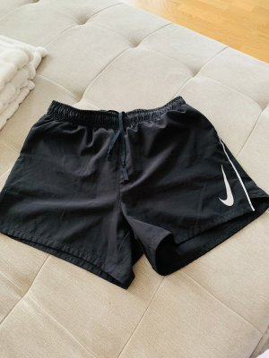 Nike Sport Shorts black-silver-colored