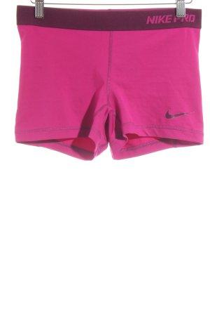 Nike Shorts magenta sportlicher Stil