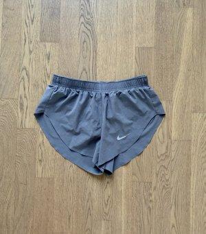 Nike Shorts XS 34 Sport Lila Grau kurz