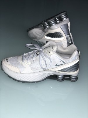 Nike Shox - weiß Silber