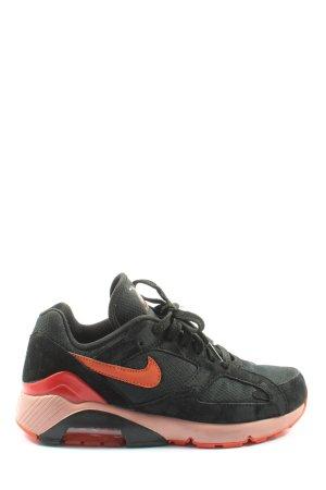 Nike Skaterschuhe schwarz-rot Elegant