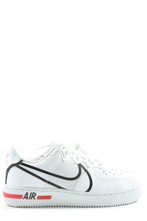 Nike Skaterschuhe Schriftzug gedruckt Casual-Look
