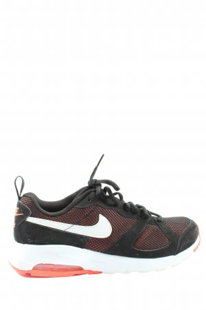 Nike Skaterschuhe schwarz-rot Casual-Look