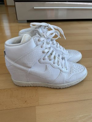Nike Sneaker con zeppa bianco