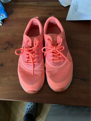 Nike Lace-Up Sneaker orange-neon orange