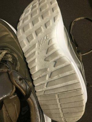 Nike Sneakers met veters zandig bruin Leer