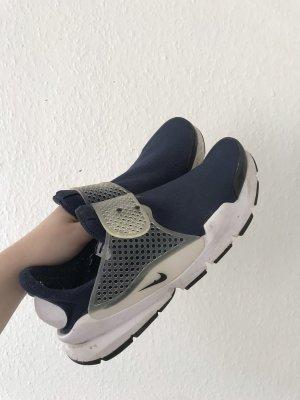 Nike Chaussure skate bleu-blanc