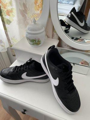 Nike Sneakresy na obcasie czarny-biały