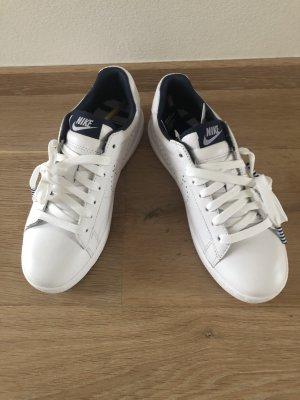Nike Heel Sneakers white imitation leather