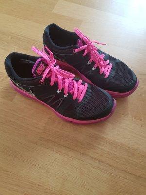 nike sneaker flex schwarz pink