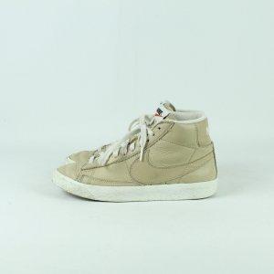 NIKE Sneaker Gr. 38 1/2 beige Leder Model. Blazer Mid (20/11/090*)