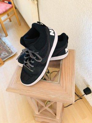 Nike High top sneaker zwart-donkergrijs