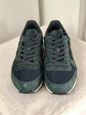 Nike Sneaker Internationalist Dunkelgrün Gold 38,5