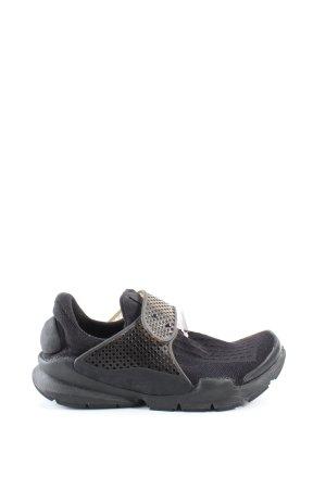 Nike Zapatillas con velcro negro look casual