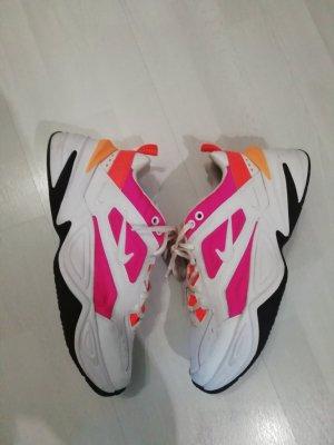 Nike Sneaker M2K Tekno Neon Weiß Chunky Ugly Dad Sneakers