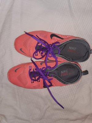Nike sneaker neon Orange sport