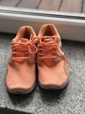 Nike sneaker peach