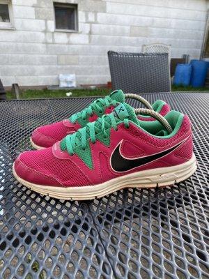 Nike Sneaker pink / grün Gr. 39