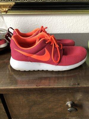 Nike Sneaker pink orange
