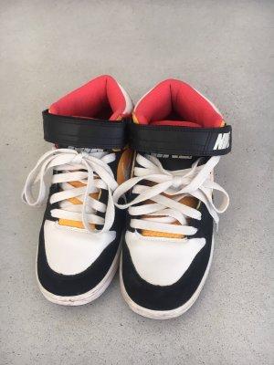 Nike Zapatilla brogue blanco-azul oscuro