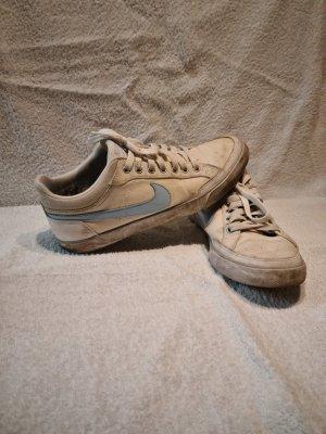 Nike Sneaker, weiß, babyblau