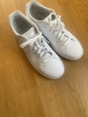 Nike Sneaker Weiß Leder 44