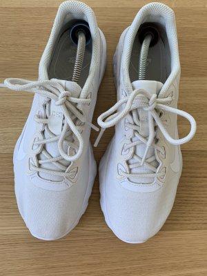 NIKE Sneaker - weiß Leinen