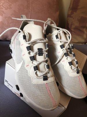 Nike Sneaker wie neu 40 weiß rosé Unikat