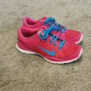 Nike Sneakers 40 , Pink Blau Sehr Leicht & Bequem