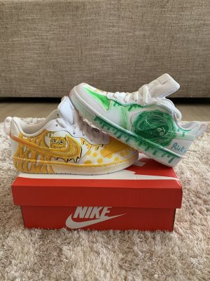 Nike Sneakers, custom, handpainted, new, low