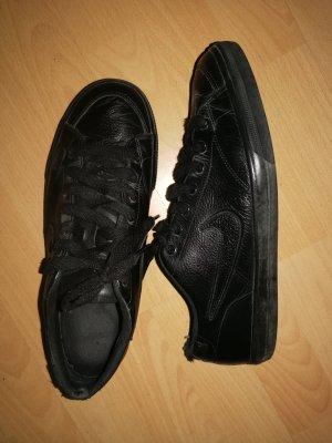 Nike Sneakers Schnürschuhe Leder