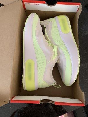 Nike Zapatillas altas blanco-amarillo neón