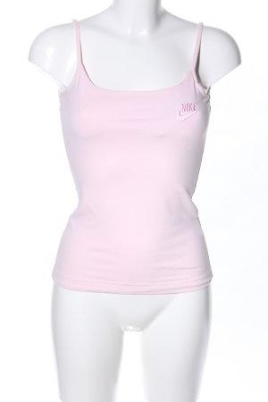 Nike Top con bretelline rosa stile casual