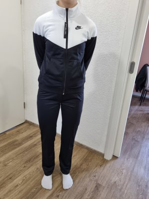 Nike Sports Jacket white-black