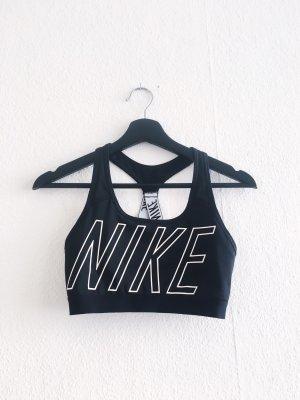 Nike Top deportivo sin mangas negro