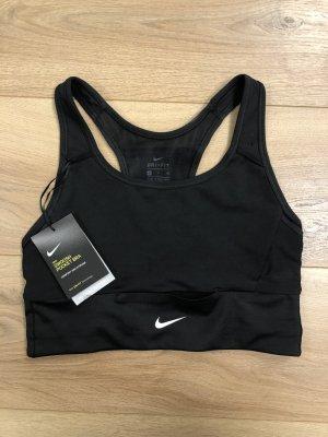 Nike Sport-BH schwarz / Nike Swoosh Pocket Bra