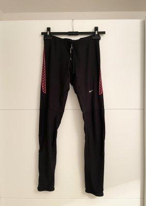 Nike Sport Leggins Schwart Rot S Muster
