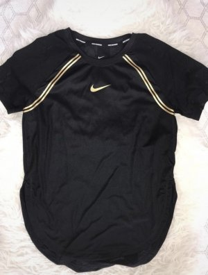 Nike Sportshirt zwart-goud