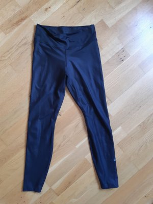 Nike Sport Tights Leggings in Lederoptik