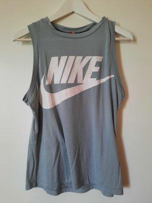 Nike Sport Top Gr.S grau/grün