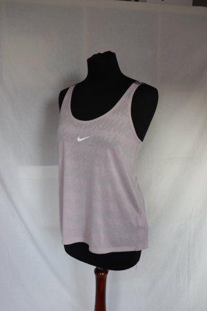 Nike Sport Top Größe M mit Rückenausschnitt in rosa