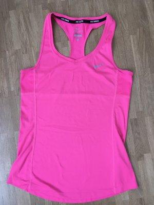 Nike Sport-Top in neon-pink
