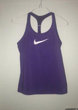 Nike Sport- top mit innen BH, Gr. S