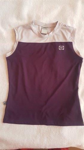 Nike Sport Top Shirt Sportshirt violett Gr. M/L