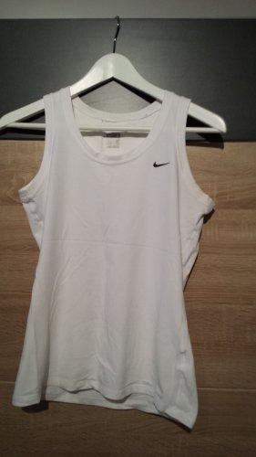Nike Sport Top Weiß Gr. S